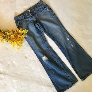 Mossimo Faded Jeans Size 11